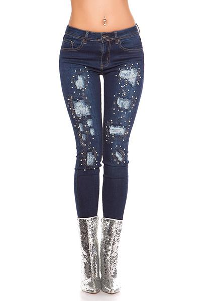 Roupa Jeans c/ pérolas